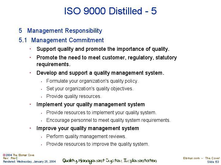 iso 9001 management review meeting report
