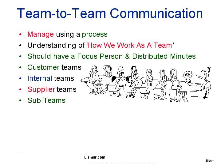 effective communication and technology for teams Successful companies cultivate a culture that coach technology team  if the  technology teams don't clearly communicate the value of their.