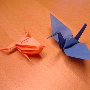 Origami: I have been folding paper since I was a kid, and my daughter renewed my interest.