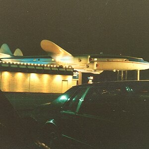 Restaurants 1980s - Airplane Lounge - This was an airplane