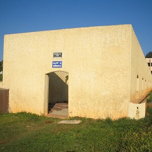 One of the Barrack which used to house 100 prisoners