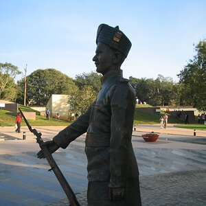 Another view of the policeman model