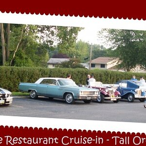 Bakers Square Restaurant Cruise-in, North Olmsted, OH