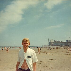 Belgium on a beach circa 1967 (back when I was young and cute.... ;) )
