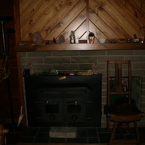 Fireplace and mantle - 20120422 IMG 4767
