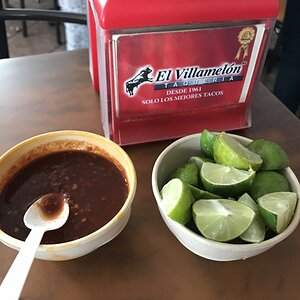 The best salsa in the world is Villamelon's