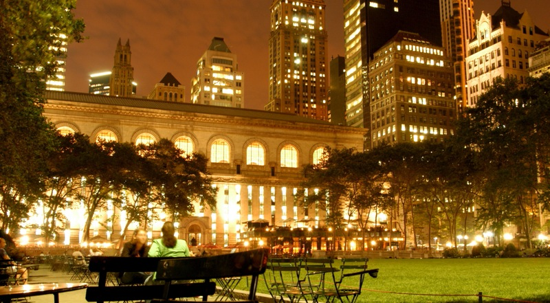 Fencing Is Coming To Nyc S Famous And Trendy Bryant Park